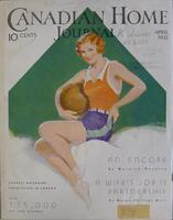 Canadian Home Journal April 1932 thumbnail