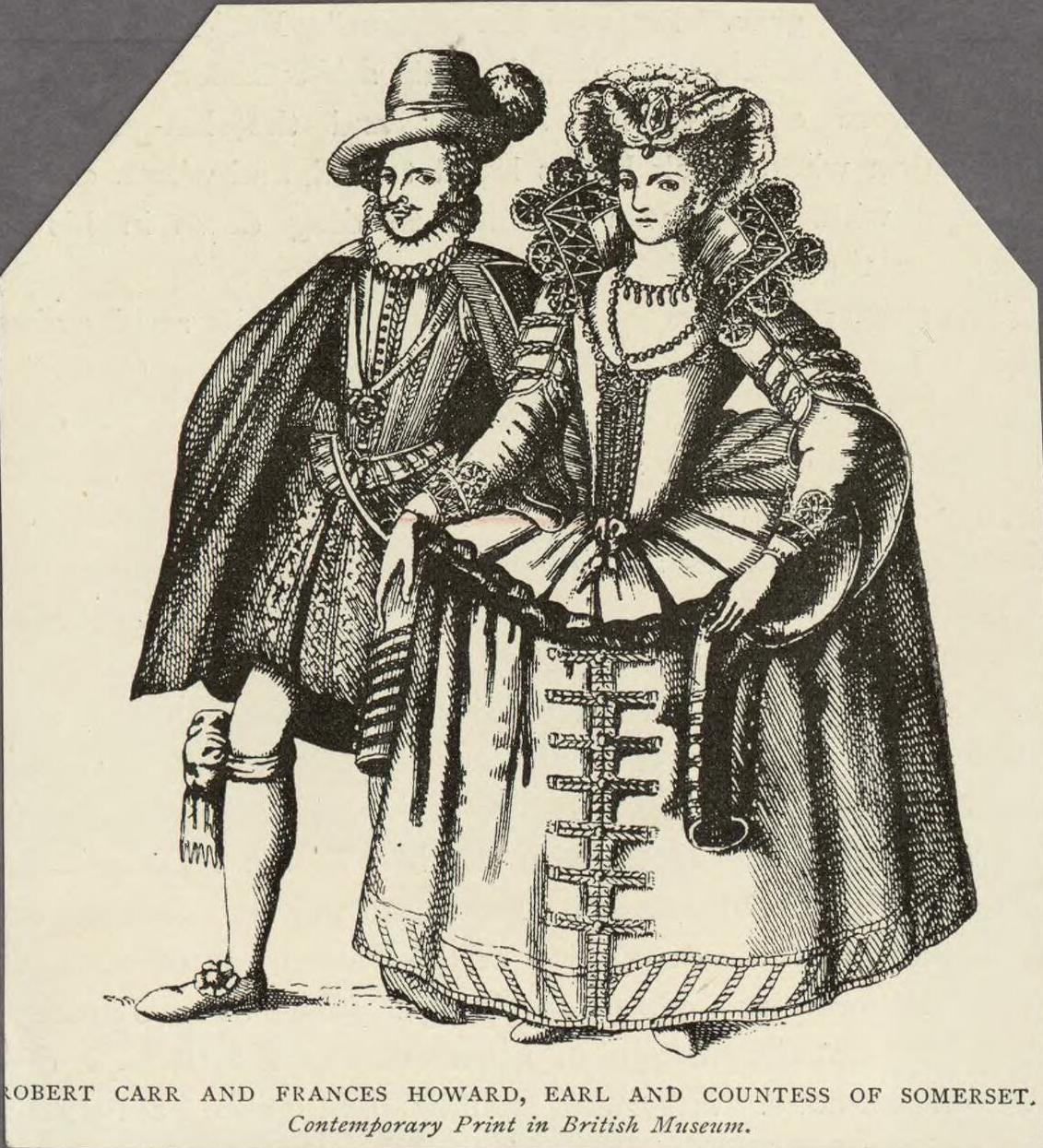 Robert Carr and Frances Howard
