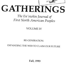 Gatherings Vol. 4 (1993) thumbnail