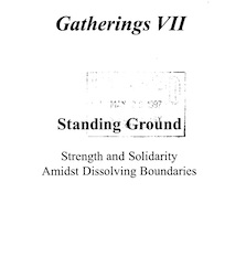 Gatherings Vol. 7 (1996)  thumbnail