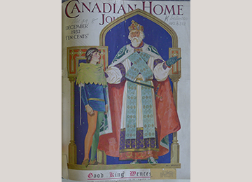 Cover of Canadian Home Journal